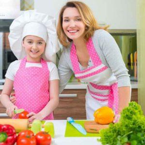 סדנת בישול בריא לאימהות ובנות